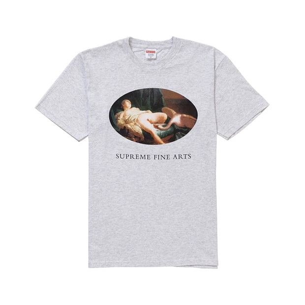 SUPREME SS19 LEDA AND SWAN TEE ASH GREY (NEW) -