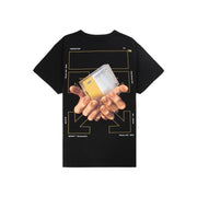 OFF WHITE HANDS ARROWS BLACK TEE (NEW) XSMALL