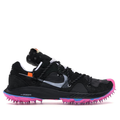 NIKE X OFF WHITE ZOOM TERRA KIGER 5 BLACK (NEW) US9W / US7.7M / EU40.5