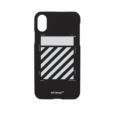 OFF WHITE DIAGONAL BLACK IPHONE X / XS CASE BLACK (NEW)