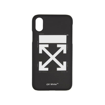 OFF WHITE ARROWS TEMPERATURE BLACK IPHONE XR CASE (NEW)