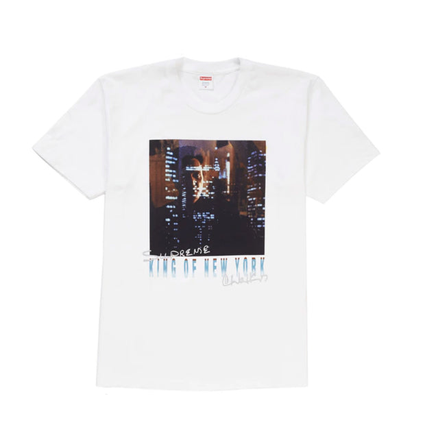 SUPREME SS19 KING OF NEW YORK TEE WHITE LARGE (NEW)