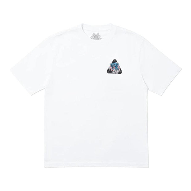 PALACE RIPPED TEE WHITE LARGE (NEW)
