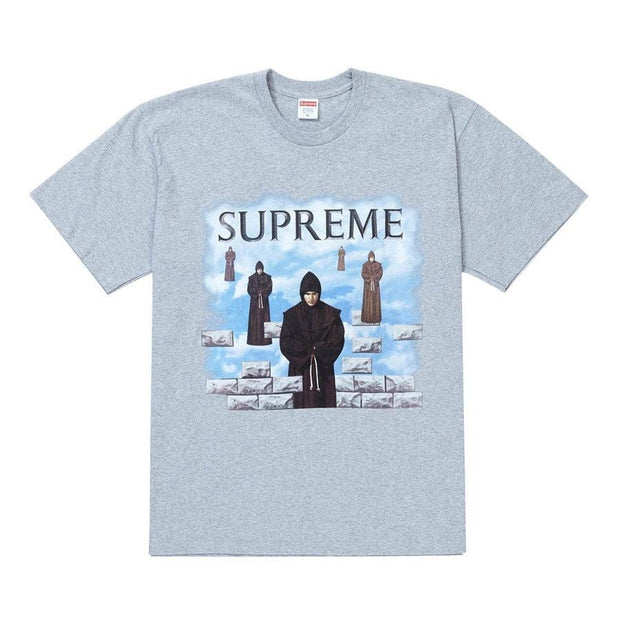 SUPREME LEVITATION GREY TEE MEDIUM (NEW)