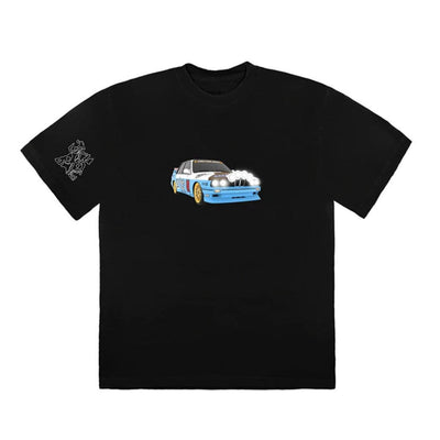 TRAVIS SCOTT JACK BOYS VEHICLE TEE BLACK (NEW) MEDIUM