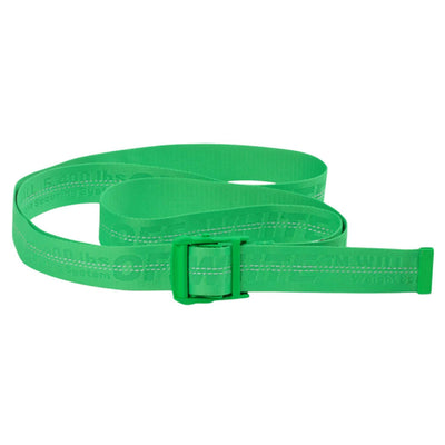 OFFWHITE 2M BRILLIANT GREEN INDUSTRIAL BELT GREEN BUCKLE (NEW) ONE SIZE