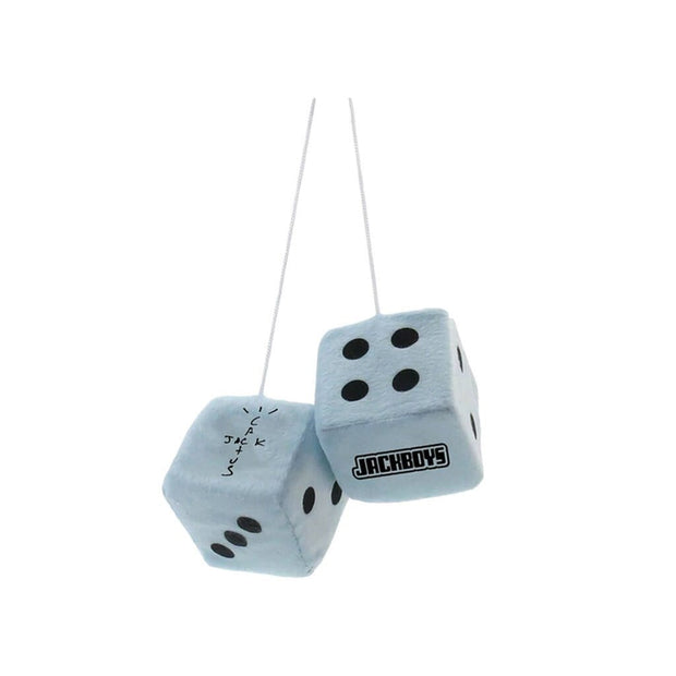 TRAVIS SCOTT JACKBOYS MIRROR DICE BLUE (NEW) ONE SIZE