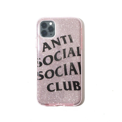 ASSC NO TEXTS PINK IPHONE 11 CASE (NEW) ONE SIZE