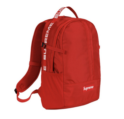 SUPREME SS18 BACKPACK RED (NEW)
