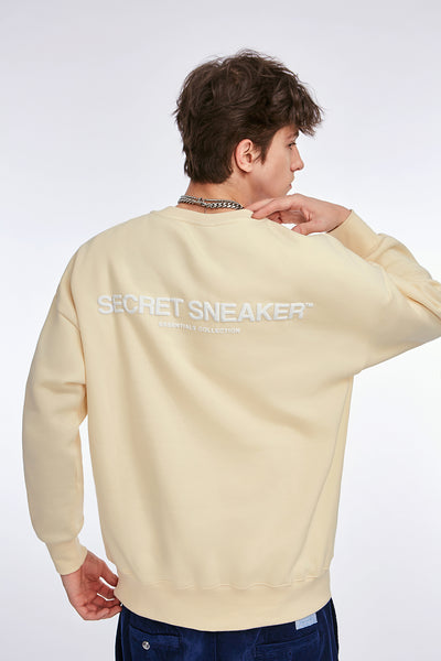 SSS ESSENTIALS CREWNECK CREAM (NEW)