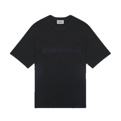 FOG ESSENTIALS SS20 3D SILICON APPLIQUE LOGO BLACK TEE (NEW)