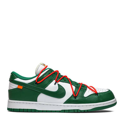 NIKE X OFF WHITE DUNK LOW PINE GREEN (NEW)