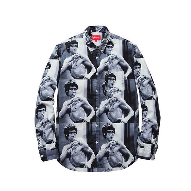 SUPREME FW13 BRUCE LEE BLACK SHIRT (NEW) -