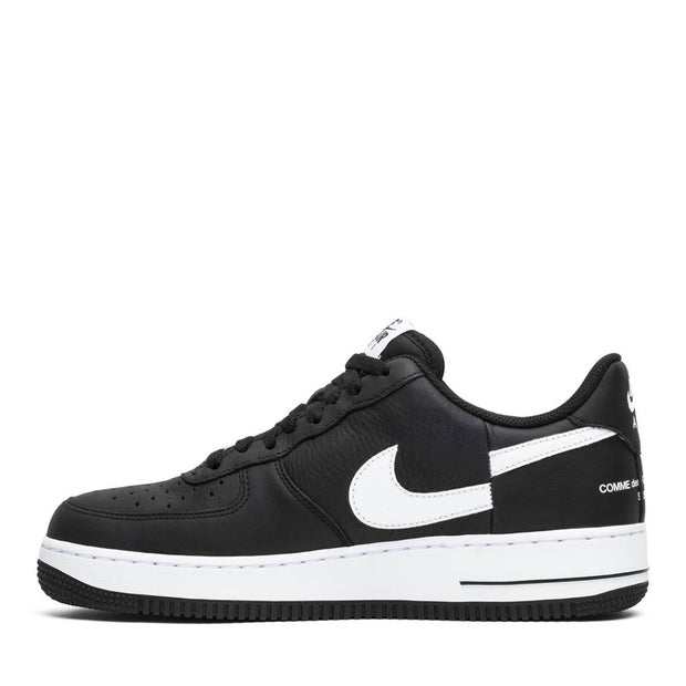 NIKE X SUPREME CDG SHIRT AIR FORCE 1 LOW BLACK 2018 (NEW) -