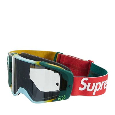 SUPREME X HONDA FOX FW19 RACING VUE GOGGLES MOSS GREEN (NEW) -