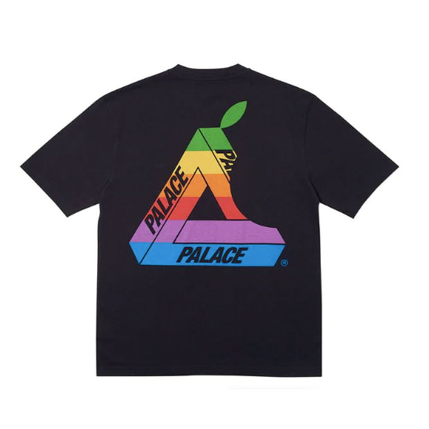 PALACE JOBSWORTH APPLE BLACK TEE (NEW) -