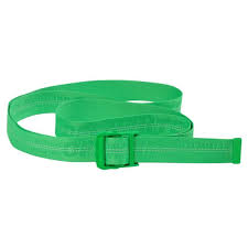 OFF WHITE 2M BRILLIANT GREEN INDUSTRIAL BELT (NEW) -