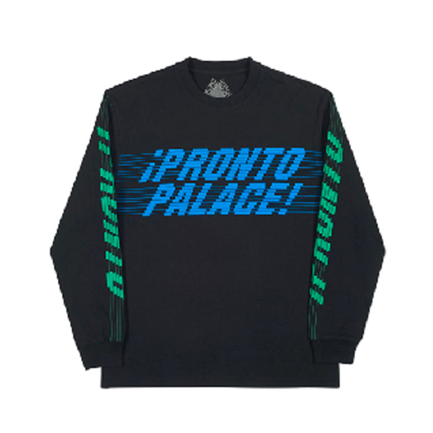 PALACE PRONTO BLACK LONGSLEEVE (NEW) -