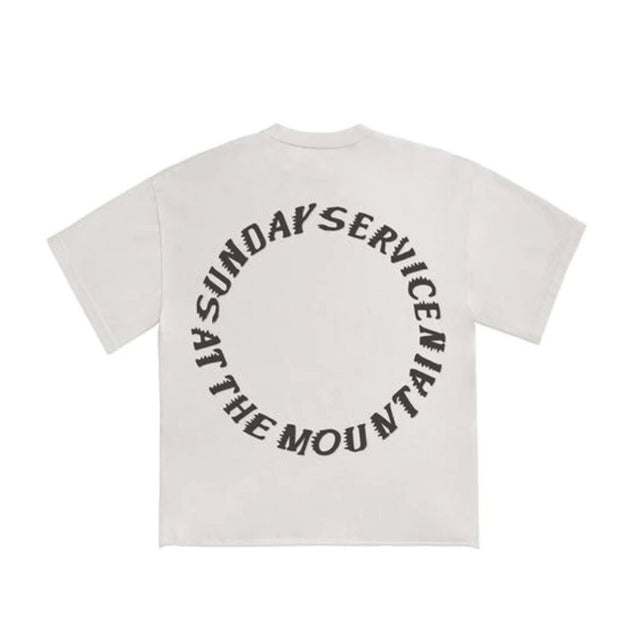KANYE WEST X CPFM SUNDAY SERVICE TRUST GOD TAN TEE (NEW)