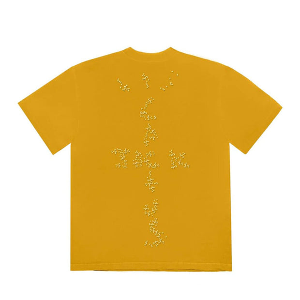 TRAVIS SCOTT X MCDONALDS SESAME INV 2 TEE GOLD (NEW)