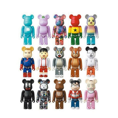 BEARBRICK SERIES 41 100% - ASSORTED (SINGLE BLIND BOX)