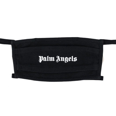PALM ANGELS BLACK FACE MASK (NEW) ONE SIZE