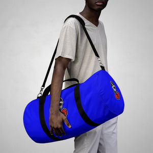"""Drippy Blue"" Duffle Bag (Nipsey Hussle Inspired)"