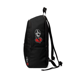 """DRIPPY BLK 3"" Unisex Fabric Backpack"