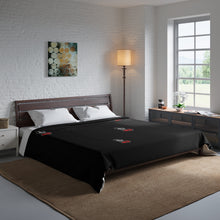 "Load image into Gallery viewer, ""Drippy Blk"" Comforter"