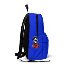 "Load image into Gallery viewer, ""DRIPPY BLUE"" Classic Backpack (NIPSEY HUSSLE INSPIRED)"