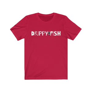 """Drippy Fish"" Dope Between The Lines Unisex Jersey Short Sleeve Tee"