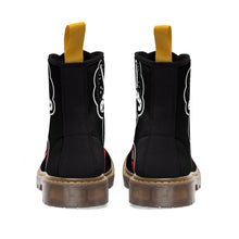 "Load image into Gallery viewer, ""Drippy Blk"" Women's Martin Boots"