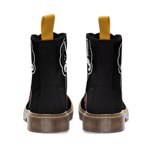 """Drippy Blk"" Women's Martin Boots"