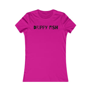 """Drippy Fish"" OG Women's Favorite Tee"