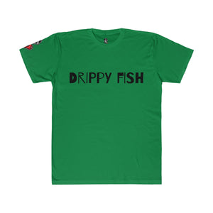 """Drippy Fish"" OG Unisex Fitted Tee"