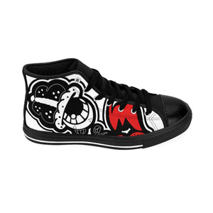 """Dripaveli Oreo's"" Women's High-top Sneakers"