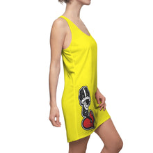"Load image into Gallery viewer, ""YLW DRIZZLE"" Women's Cut & Sew Racerback Dress"
