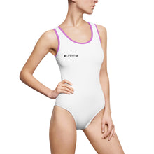 "Load image into Gallery viewer, ""Drippy Fish"" OG Women's Classic One-Piece Swimsuit"