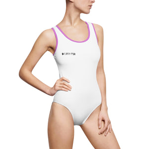 """Drippy Fish"" OG Women's Classic One-Piece Swimsuit"