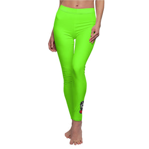 """Rave Legs"" Women's Cut & Sew Casual Leggings (INSPIRED BY NIPSEY HUSSLE)"