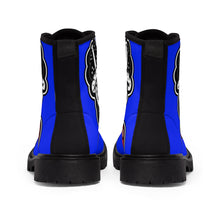 "Load image into Gallery viewer, ""Drippy Blue"" Women's Martin Boots"