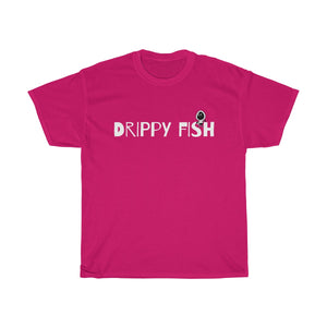 """Drippy Fish"" Dope Fiction Unisex Heavy Cotton Tee"