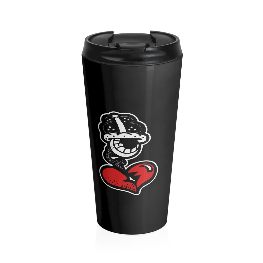 """Big Drip"" Stainless Steel Travel Mug"