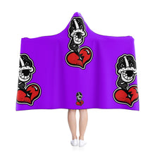 "Load image into Gallery viewer, Copy of ""Big PURP Drip"" Hooded Blanket"