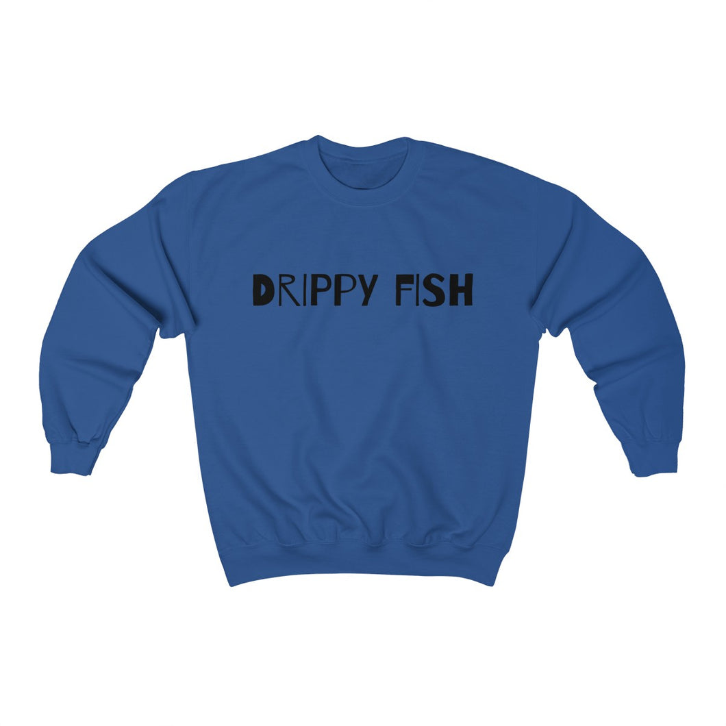 Drippy Fish™(blk lbl) Crewneck Sweatshirt
