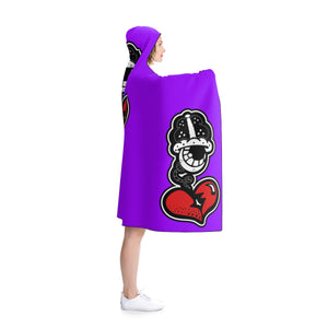 "Copy of ""Big PURP Drip"" Hooded Blanket"
