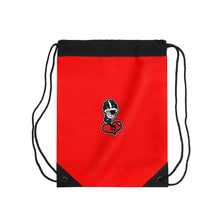 "Load image into Gallery viewer, ""Drippy Red"" Drawstring Bag"