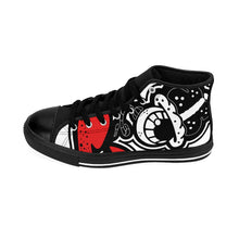 "Load image into Gallery viewer, ""Dripaveli's"" (OREO) Men's High-top Sneakers"