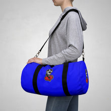 "Load image into Gallery viewer, ""Drippy Blue"" Duffle Bag (Nipsey Hussle Inspired)"