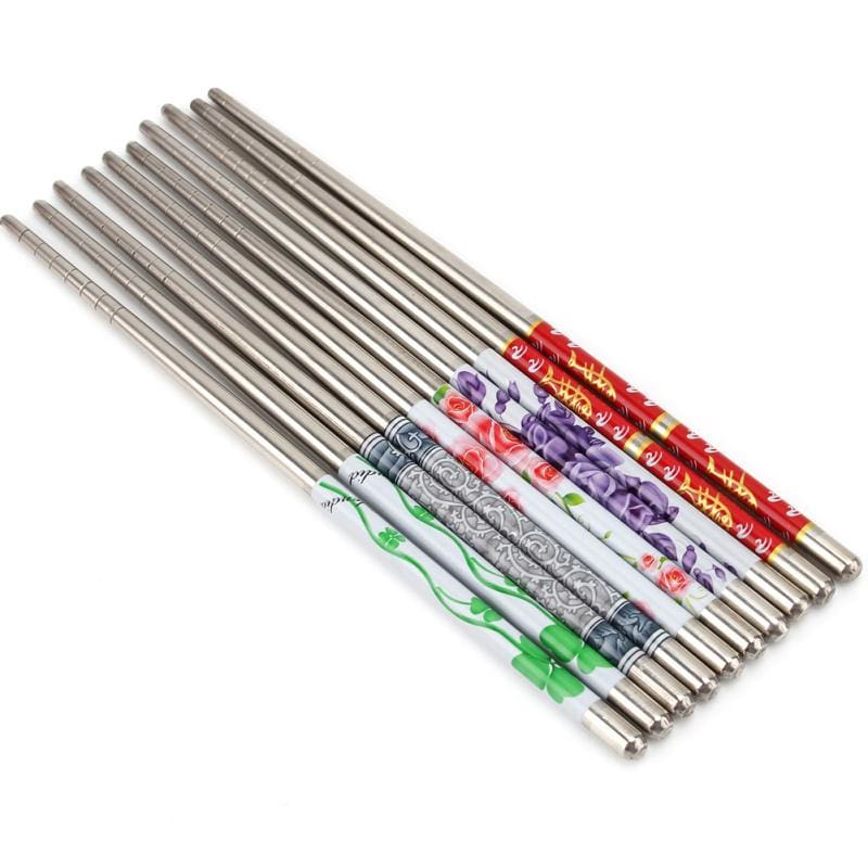5 Metal Chopsticks Koshigaya - Chopsticks